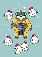 There's No Such Thing as Too Many Chickens by sylview