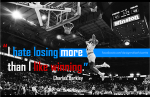 I hate losing more than I like winning I wallpaper by RafaelVicenteDesigns