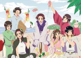 Hetalia: Asian Vacation by khakipants12