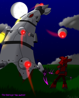 [Terraria] The Destroyer has awoken! by Mechanized515