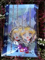 Earrings sailor moon by DarkettinaMarienne