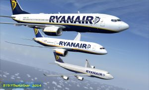 Ryanair and Friends 2 by B737TheAirliner
