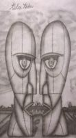 Drawing #50 Pink Floyd - The Division Bell by AidanJA