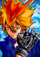 Vongola Glove I by janashlley09