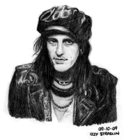 Izzy Stradlin by rivertem