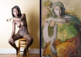 From a photo to a painting by TheArtofChurchwell