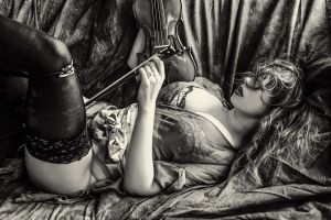 The violonist 1 by Showa93