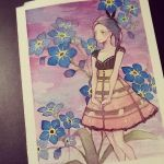Forget me not by onedayfour