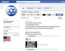 Israel facebook by dmavromatis