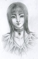 Sketch : Young Lady by MZ15