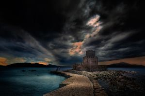 Methoni Castle by sui400
