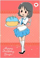 Nichijou Birthday by Popo-Licious