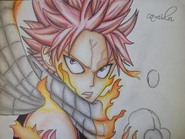 natsu dragneel-fairy tail by mila-chaan