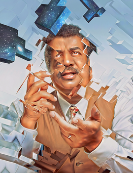 Neil deGrasse Tyson by NickyBarkla