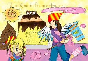 rin birthday pic by selenaloong