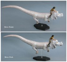 Falkor The Neverending Story falcor sculpture 3 by yotaro76