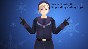MMD Hetalia - Yes, you do, Norway! by PikaBlaze