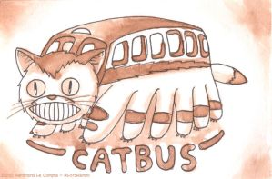 Catbus by LordRembo