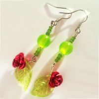 Spring earrings by CairoWhite