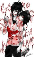 Jeff The Killer X Alice Madness Returns Hysteria by skye-LP