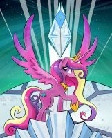 Princess Mi Amore Cadenza of the Crystal Empire by Naminational