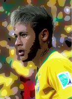 NEYMAR VECTOR by FLETCHER39