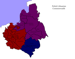 Polish Lithuanian Commonwealth surviving - Colored by kazumikikuchi