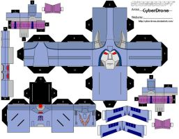 Cubee - Cyclonus by CyberDrone