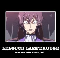 Motivational Poster Lelouch by roguewolf122