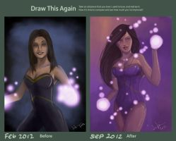 Draw this Again Contest by jericilag