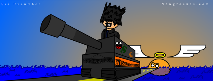Newgrounds Tank by SirCucumber