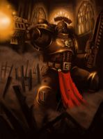 Space Marine by Filip-Hammer