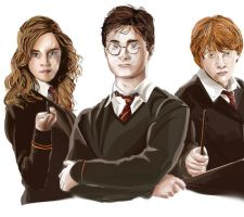 Harry Potter.. by Artist-in-Despair