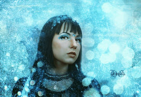 Ice Princess Retouch by HayleyGuinevere