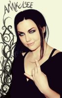 Amy Lee Photomanipulation by Out-of-the-rain