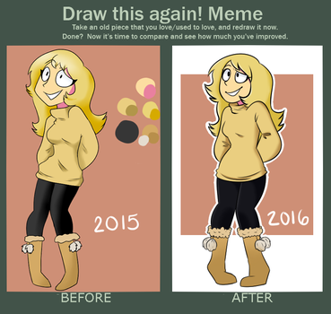 Before And After Meme by LiziePie