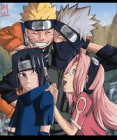 Naruto : team 7 by Mr-van