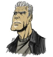 Clay Morrow by gadgetwk