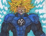 Trunks blue lantern USSJ by HazardousWaste1
