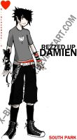 REZZED UP DAMIEN. by x--blackrose--x