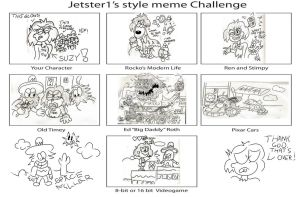 Jetster Style Meme: Suzy Lee by CowboyCrocket