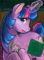 Bedtime Story by AokiBengal