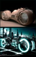 TRON LightCycle by Arte-Animada