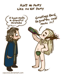 Hobbit - Barduil -Ain't No Party Like An Elf Party by caycowa