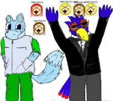 Falco and Ris i guess xD by RisGrestarSFX