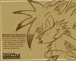 Sonic Channel::Hogger Vers. 2 by SpyxedDemon