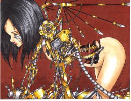 Battle Angel Alita by animeadict