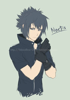 Prince Noctis by BloodlineV