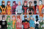 Avengers and X-Men by calslayton