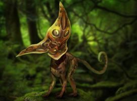 3D creature concept by DireImpulse